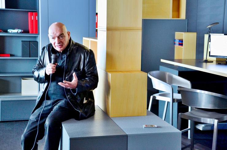 """""""Inauguración de la Semana del Diseño de Milán; Presentación de uno de los proyectos más esperados de iSaloni"""" Semana del Diseño de Milán jean nouvel"""