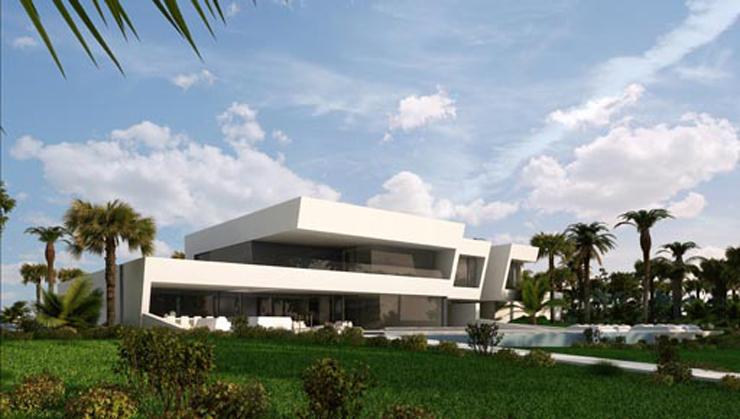 """""""Último proyecto del estudio A-Cero en la categoría de arquitectura; Vivienda unifamiliar situada en el Norte de África;""""  Último proyecto del estudio A-Cero vivienda en africa"""