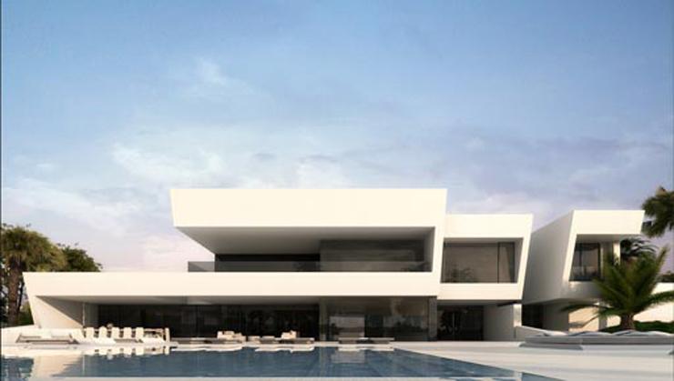 """""""Último proyecto del estudio A-Cero en la categoría de arquitectura; Vivienda unifamiliar situada en el Norte de África;  Último proyecto del estudio A-Cero vivienda en el norte de africa"""