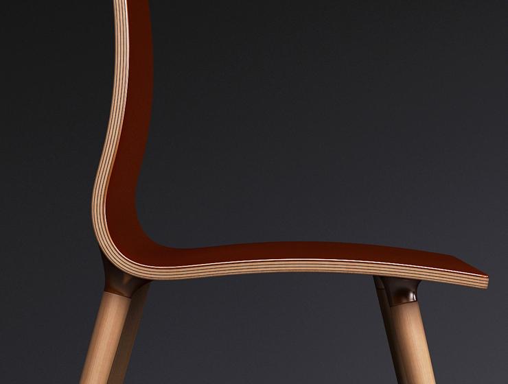 """""""La silla S-Copper es un concepto de silla de alta gama pensado para personas que valoran la nobleza de los materiales.""""  Silla S-Copper  12"""