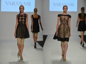 """""""Como una muestra de arte, Varanasi presenta sus diseños.""""  Vernissage de moda – Eventos – Decorar una Casa 41"""