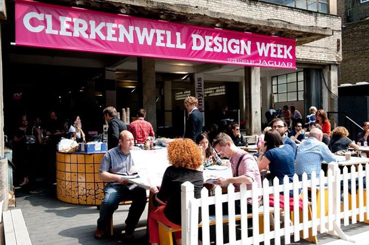 """""""La Semana de Diseño de Clerkenwell es el evento de diseño independiente más importante de Reino Unido y uno de los eventos más aclamados en el calendario internacional de diseño""""  La Semana de Diseño de Clerkenwell CDW"""