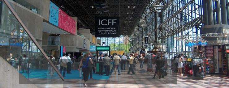 """""""ICFF – International Contemporary Furniture Fair es una de las ferias más prestigiosas de Estados Unidos dentro del sector de hábitat de diseño y la más importante del área de Nueva York""""  ICFF 2013 ICFF2"""