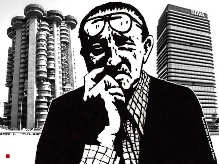 """""""Arquitecto. Se le considera una de las figuras más influyentes y admiradas en la arquitectura española de la segunda mitad del siglo XX.""""  Francisco Javier Sáenz de Oiza LOL"""