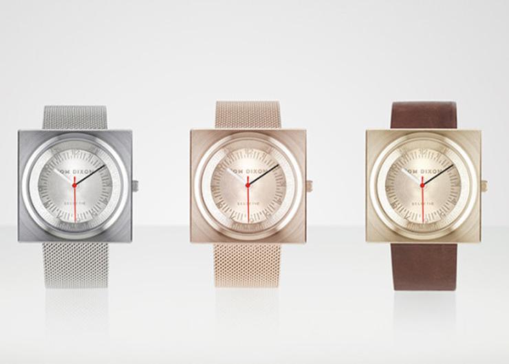 """""""En el año 2012, el diseñador industrial Tom Dixon lanzó una gama de accesorios para el hogar llamado Eclectic de Tom Dixon.""""  Reloj Block para Eclectic de Tom Dixon Reloj Block para Eclectic Tom Dixon 3"""