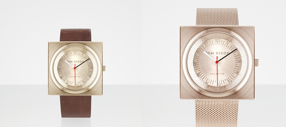Reloj Block para Eclectic de Tom Dixon Untitled 110