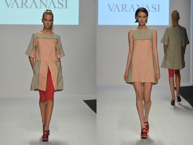 """""""Como una muestra de arte, Varanasi presenta sus diseños.""""  Vernissage de moda Untitled 32"""
