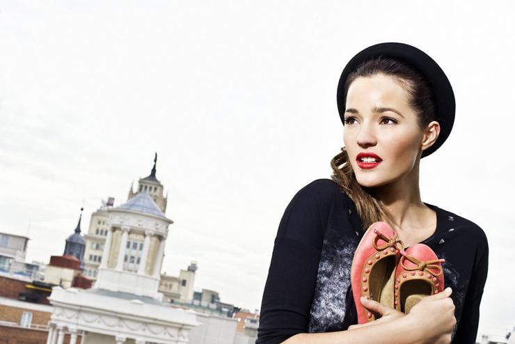"""""""La modelo mallorquina es la nueva imagen de la firma de zapatos Refresh.""""  Malena Costa con Refresh adj 513a062311045 3561898 1024 800"""