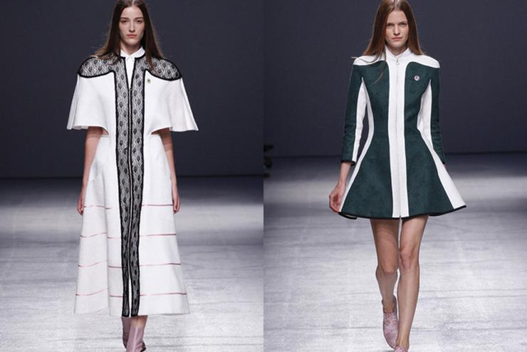 """""""Aganovich ha aportado el toque más excéntrico a la París Fashion Week hasta el momento.""""  Aganovich en París Fashion Week aga1"""