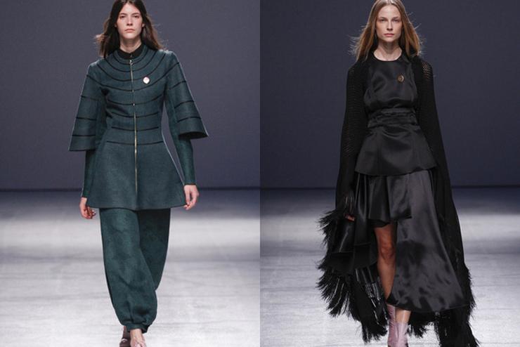 """""""Aganovich ha aportado el toque más excéntrico a la París Fashion Week hasta el momento.""""  Aganovich en París Fashion Week aga2"""