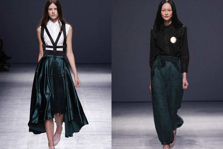 """""""Aganovich ha aportado el toque más excéntrico a la París Fashion Week hasta el momento.""""  Aganovich en París Fashion Week aga3"""