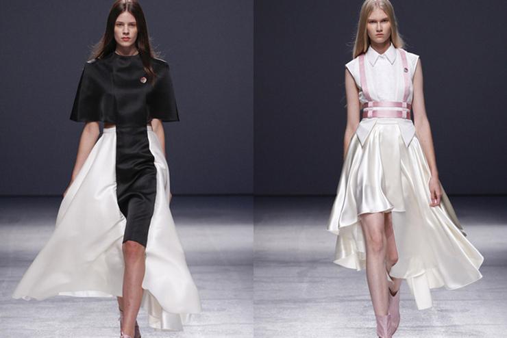 """""""Aganovich ha aportado el toque más excéntrico a la París Fashion Week hasta el momento.""""  Aganovich en París Fashion Week aga4"""