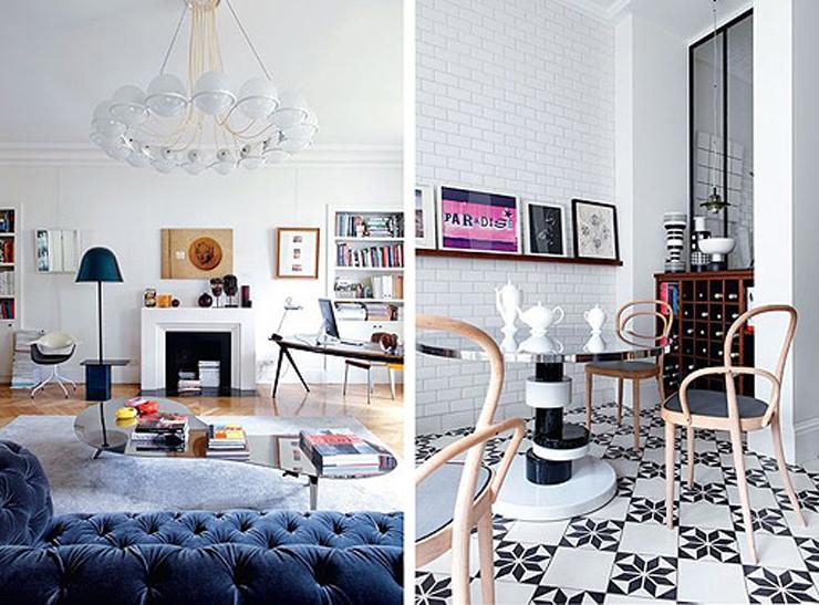 """""""Hay apartamentos con una decoración tan cuidada y especial que nada más verlos, sin saber muy bien exactamente por qué, hacen suspirar, inspiran y se convierten en esa casa con la que siempre hemos soñado.""""  Apartamento femenino en París 211"""