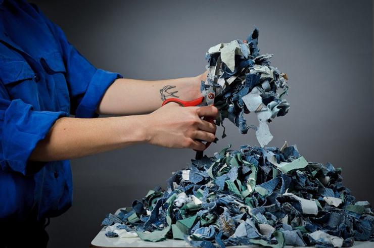 """""""Demodé es un nuevo material desarrollado por la diseñadora chilena Bernardita Marambio.""""  Demodé: muebles de material textil por Bernardita Marambio 225"""