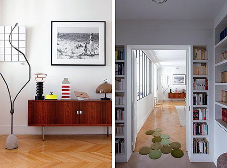 """""""Hay apartamentos con una decoración tan cuidada y especial que nada más verlos, sin saber muy bien exactamente por qué, hacen suspirar, inspiran y se convierten en esa casa con la que siempre hemos soñado.""""  Apartamento femenino en París 310"""