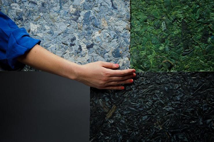 """""""Demodé es un nuevo material desarrollado por la diseñadora chilena Bernardita Marambio.""""  Demodé: muebles de material textil por Bernardita Marambio 321"""