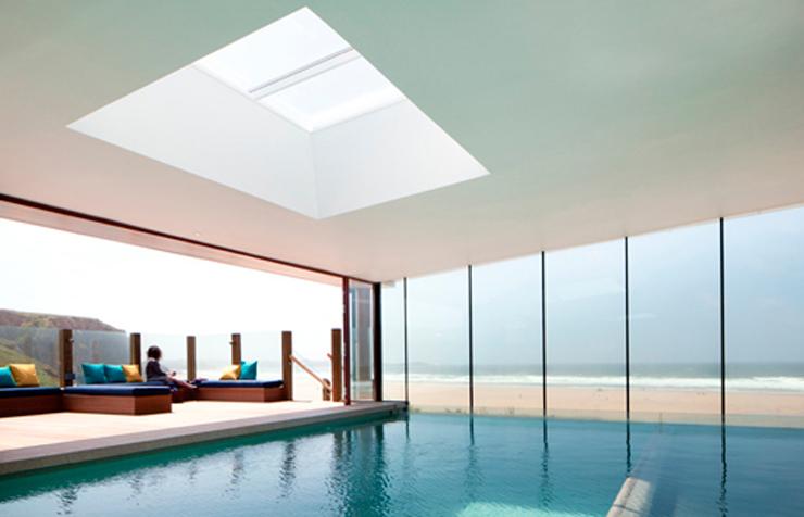 """""""El Watergate Bay Hotel se encuentra en la costa atlántica al sudoeste de la isla británica."""" Hotel en la costa Hotel en la costa atlántica británica 417"""