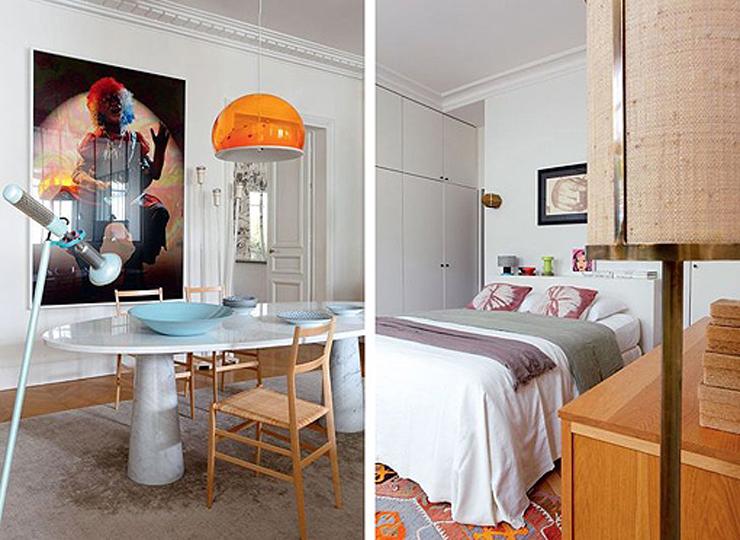 """""""Hay apartamentos con una decoración tan cuidada y especial que nada más verlos, sin saber muy bien exactamente por qué, hacen suspirar, inspiran y se convierten en esa casa con la que siempre hemos soñado.""""  Apartamento femenino en París 49"""
