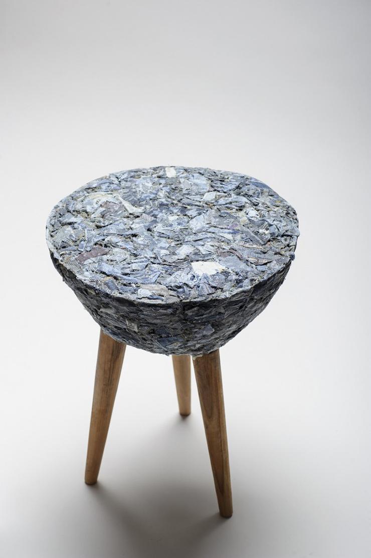 """""""Demodé es un nuevo material desarrollado por la diseñadora chilena Bernardita Marambio.""""  Demodé: muebles de material textil por Bernardita Marambio 514"""