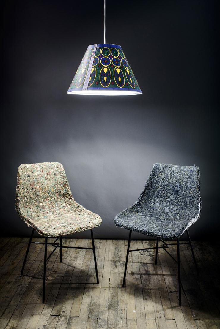 """""""Demodé es un nuevo material desarrollado por la diseñadora chilena Bernardita Marambio.""""  Demodé: muebles de material textil por Bernardita Marambio 65"""