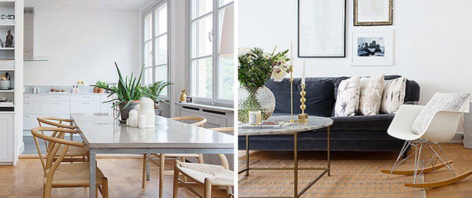 C mo decorar un apartamento en blanco con muebles de - Decorar muebles blancos ...