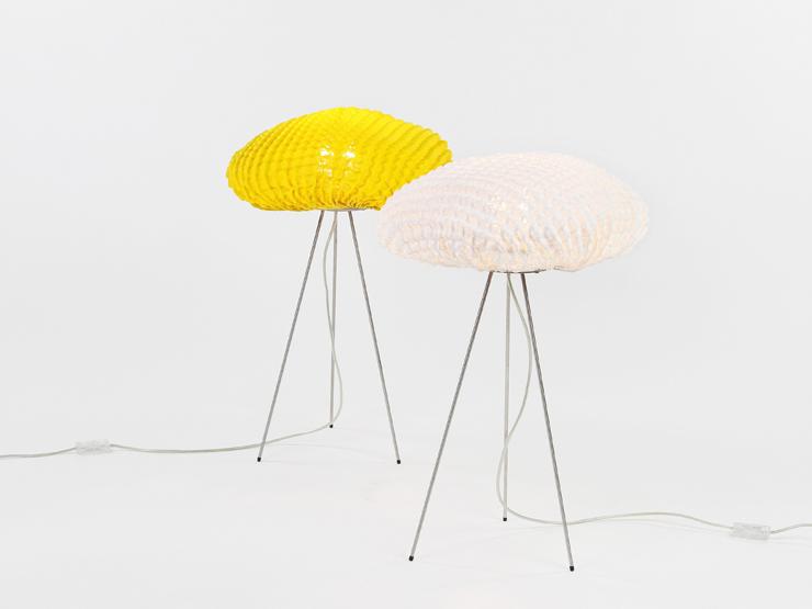 """""""Una lámpara de silicona con formas y texturas orgánicas.""""  Arturo Álvarez nos deslumbra con Tati 11"""