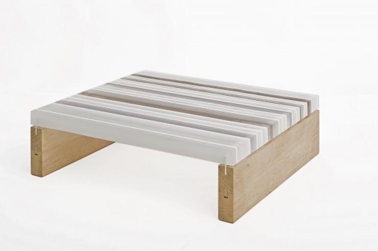 """""""La mesa PLET, desarrollada por el arquitecto y diseñador Reinier de Jong, está conformada completamente por materiales de desecho.""""  Ideas para Decorar: Mesa Plet de Reinier de Jong 122"""