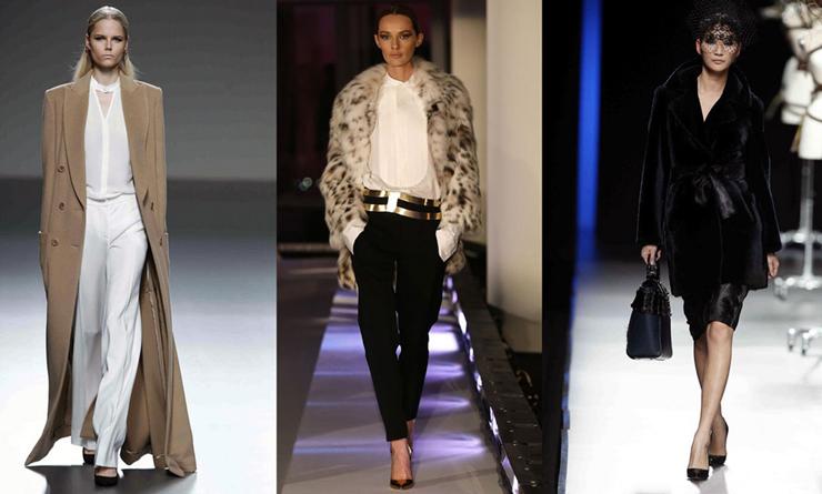 """""""Schlesser apuesta por prendas muy femeninas para una mujer urbana que busca comodidad al vestirse.""""  El diseñador de modas Ángel Schlesser 218"""