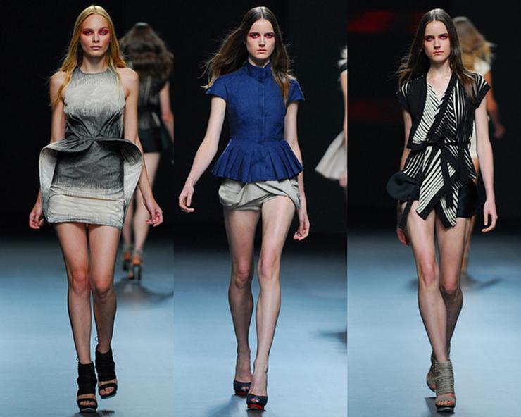 """""""Diseñadora de moda española. Estudió en Madrid y dio sus primeros pinitos en la empresa familiar Elipse.""""  La diseñadora de modas Amaya Arzuaga 219"""