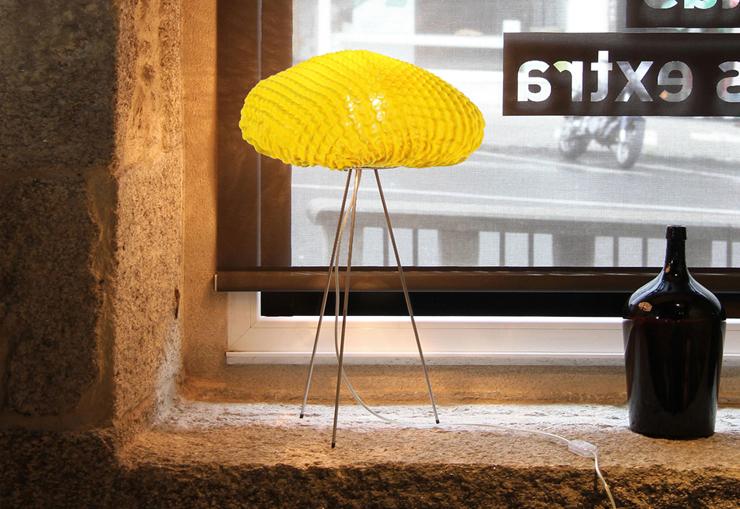 """""""Una lámpara de silicona con formas y texturas orgánicas.""""  Arturo Álvarez nos deslumbra con Tati 22"""