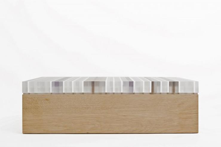 """""""La mesa PLET, desarrollada por el arquitecto y diseñador Reinier de Jong, está conformada completamente por materiales de desecho."""" Ideas para Decorar: Mesa Plet de Reinier de Jong 224"""