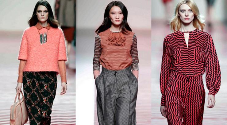 """""""Ailanto es una firma de moda ubicada en Barcelona desde 1992.""""  Ailanto, combinación de colores y la geometría de las formas 230"""