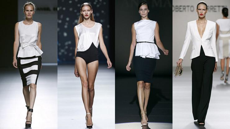 """""""Schlesser apuesta por prendas muy femeninas para una mujer urbana que busca comodidad al vestirse.""""  El diseñador de modas Ángel Schlesser 311"""