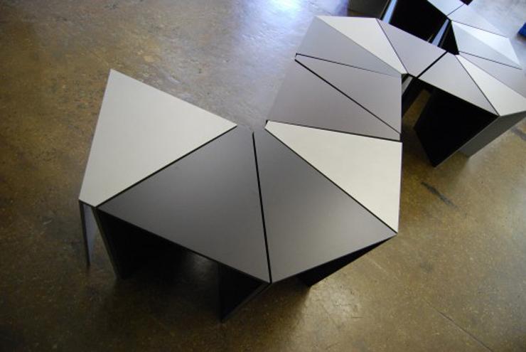 """""""Octavo, uno de los productos de IMAKE STUDIO, el área de diseño de la firma de arquitectura Nandinee Phookan Architecture.""""  Ideas para Decorar: Mesa Octavo de IMAKE Studio 314"""