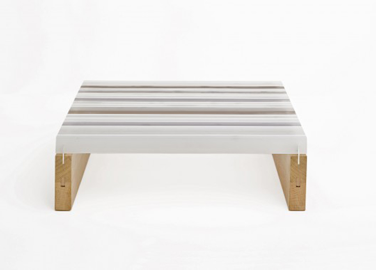 """""""La mesa PLET, desarrollada por el arquitecto y diseñador Reinier de Jong, está conformada completamente por materiales de desecho.""""  Ideas para Decorar: Mesa Plet de Reinier de Jong 315"""