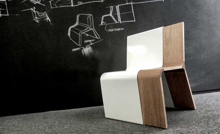 """""""El concepto de esta silla creada por el diseñador industrial Alberto Villarreal, está inspirado en el espacio vacío generado por los objetos.""""  Ideas para Decorar: Silla Moderna Guarda de Alberto Villarreal 110"""