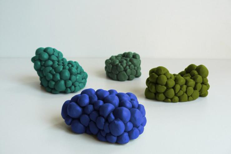 """""""Pareciera que las piezas de esta serie, creada por el diseñador de interiores Maarten De Ceulaer no fueron hechas por manos."""" Ideas para decorar: Mutation Series de Maarten De Ceulaer 112"""