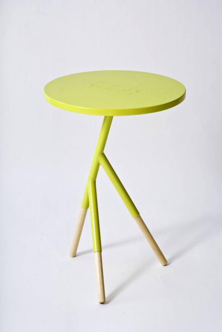 """Socorro, una mesa auxiliar creada por el equipo argentino Mestizo Disenio.""  Ideas para Decorar: Mesa Socorro de Mestizo Disenio 120"