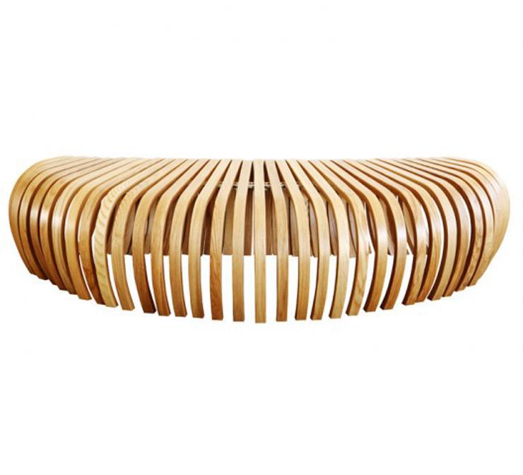 """""""La banca Ribs, creada por el diseñador australiano Stefan Lie del colectivo Design By Them.""""  Ideas para decorar: Banca Ribs de Stefan Lie – Design By Them 131"""