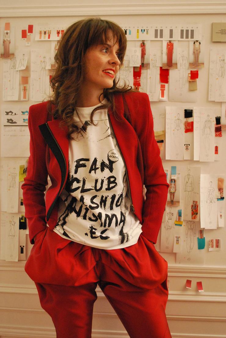 """""""Durante su trayectoria, Locking Shocking desfiló con éxito en la Pasarela Cibeles.""""  Diseñadora de Moda, Ana Locking  18"""