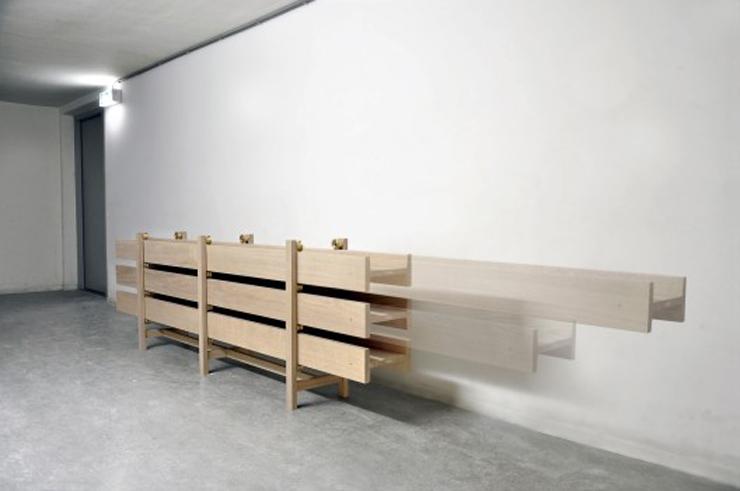 """""""Con su pieza I-Joist, el diseñador Steven Banken está ampliando la historia de la madera."""" Ideas para Decorar: Cómoda Moderna I-Joist de Steven Banken 19"""