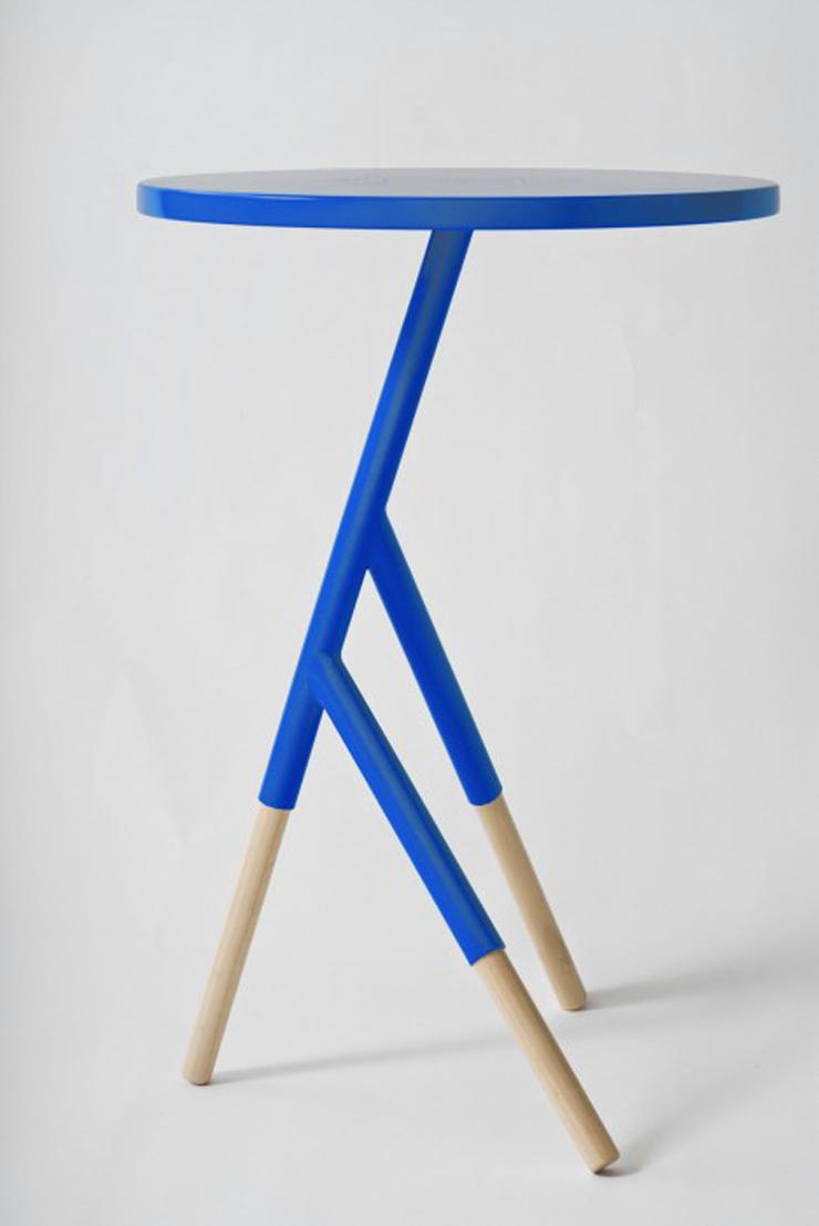 """Socorro, una mesa auxiliar creada por el equipo argentino Mestizo Disenio.""  Ideas para Decorar: Mesa Socorro de Mestizo Disenio 216"