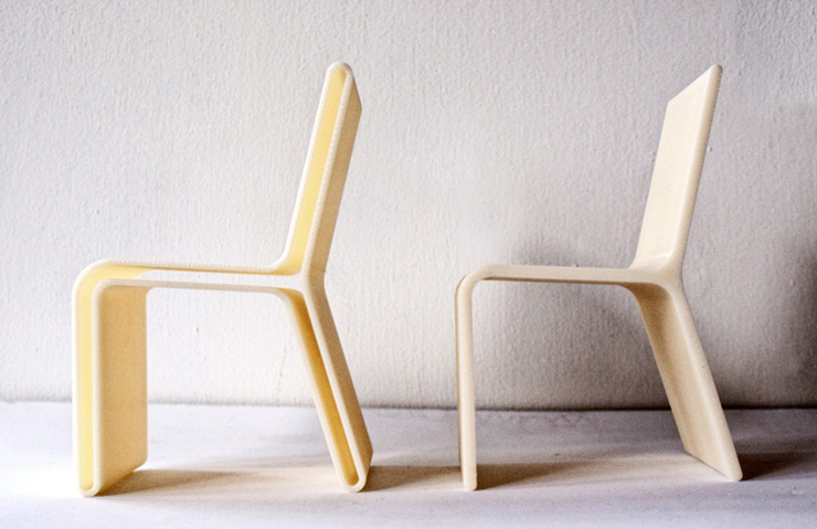 """""""El concepto de esta silla creada por el diseñador industrial Alberto Villarreal, está inspirado en el espacio vacío generado por los objetos.""""  Ideas para Decorar: Silla Moderna Guarda de Alberto Villarreal 35"""