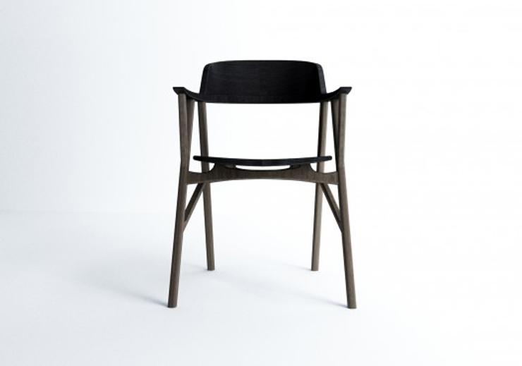 """Esta serie de silla, mesa y taburete, creada por el coreano Dongsung Jung, fue diseñada pensando un caballero Inglés, un gentleman."" Ideas para Decorar: Serie SINsa de Dongsung Jung 38"