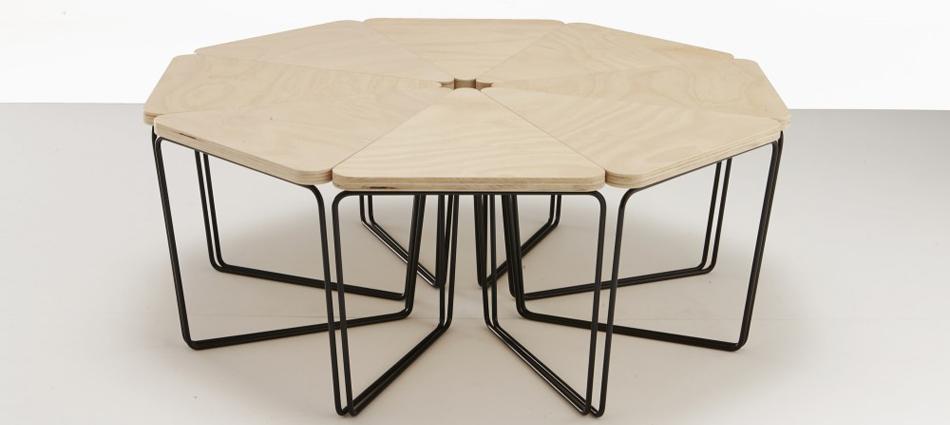 Ideas para Decorar: Mesa Fractal de Nicholas Karlovasitis & Sarah Gibson – Design By Them Untitled 120