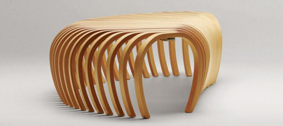 Ideas para decorar: Banca Ribs de Stefan Lie – Design By Them Untitled 17