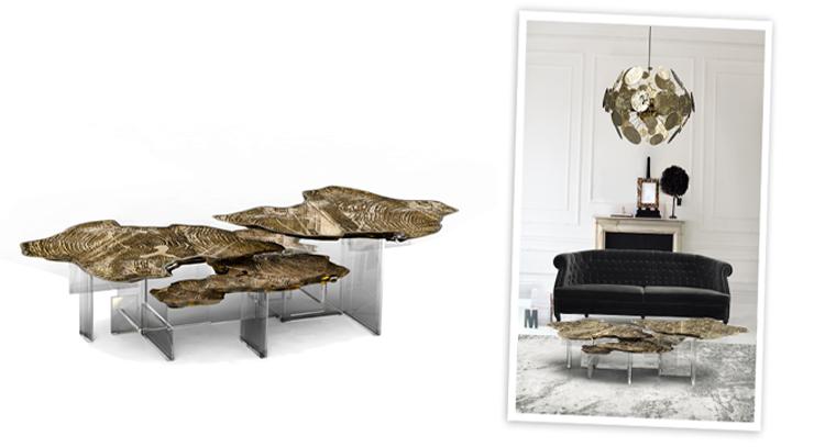 """""""Su nombre es Monet y es una mesa de centro espectacular, digna de un palacio vanguardista.""""  Ideas para Decorar: Mesa de centro Monet, puro lujo 1"""