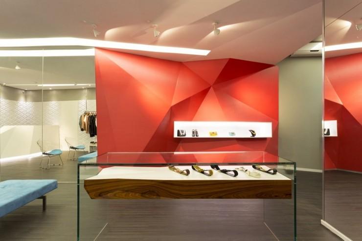 """""""Las Chicas Boutique por GUIV Arquitetura tiene la intención de ser un espacio de referencia para la moda en Belo Horizonte.""""  Decoración de Interiores: Boutique Las Chicas de GUIV Arquitetura 120"""