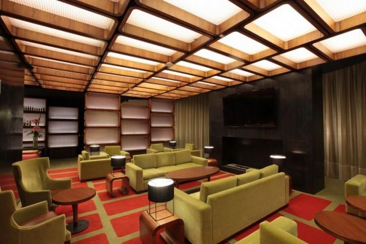 Decoraci n de interiores hilton lobby bar de pascal - Como disenar un bar en casa ...