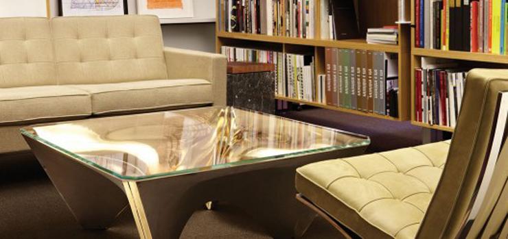 """""""Esta mesa de centro, que forma parte de la Colección Washington para Knoll, refleja la visión arquitectónica y escultórica de David Adjaye."""" Ideas para Decorar: Mesa Washington Corona de David Adjaye 22"""